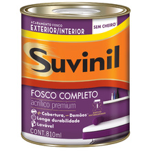 Base C Tinta Acrílica Fosco Premium Fosco Completo 0,81L Suvinil