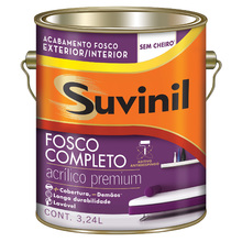 Base C Tinta Acrílica Fosco Premium Fosco Completo 3,24L Suvinil