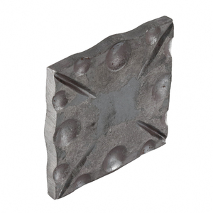 Base para Coluna Ferro Forjado 8x80x80mm