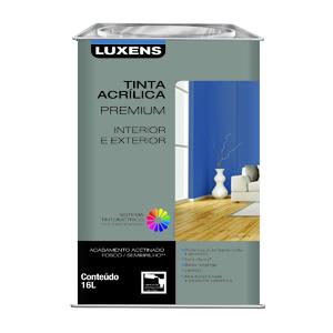 Base P Acrílica Acetinada Premium 16L Luxens
