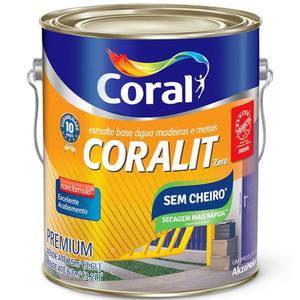 Base P Esmalte Sintético Coralit Zero Brilhante 3,2L Coral