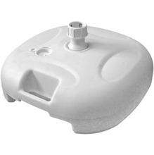Base para Ombrelone Plástico Bege 21Kg 45x45cm Belfix