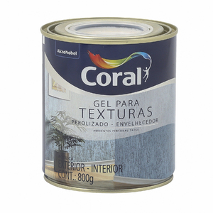 Base PM Gel Para Texturas Envelhecedor 0,81L Coral