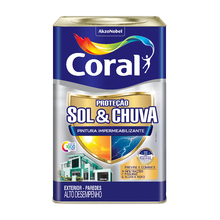 Base Premium Impermeabilizante Sol & Chuva 16,4L Coral