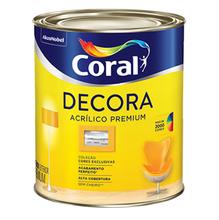 Base T Acrílica Fosco Decora Premium 0,8L Coral