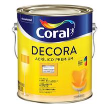 Base T Acrílica Semibrilho Decora Premium 3,2L Coral