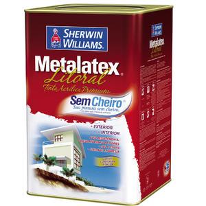 Base VY Tinta para Litoral Acetinado Premium Metalatex 16L Sherwin Williams