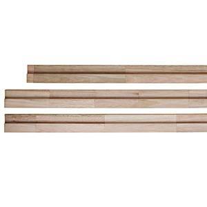 Batente Finger Madeira Eucalipto 21,5x7x2,5cm Natural Eco Idea
