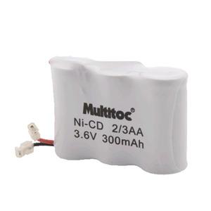 Bateria para Telefone sem Fio 3,6V/300MAH Multitoc