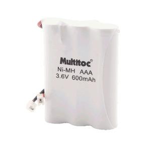 Bateria para Telefone sem Fio 3,6V/600MAH 3XAAA Multitoc