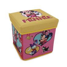 Baú Organizador Infantil Minnie Zippy Toys
