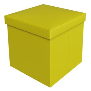 Ba puff courino amarelo 40x40x40cm desmont vel leroy merlin - Puff cama leroy merlin ...