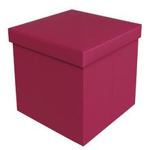 Baú Puff Pink 40x40x40cm Courino