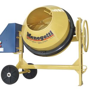 Betoneira 400L Prof com motor Mono 2cv 127V (110V) Menegotti