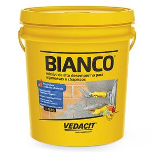 Bianco Líquido para Argamassa Chapisco Branco 18kg Vedacit
