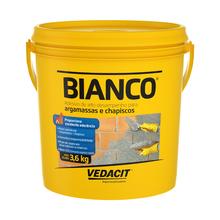 Bianco Líquido para Argamassa Chapisco Branco 3,6Kg Vedacit