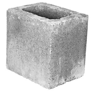 Bloco Concreto Tipo Vedação Vazado 19 x 9 x 19 cm