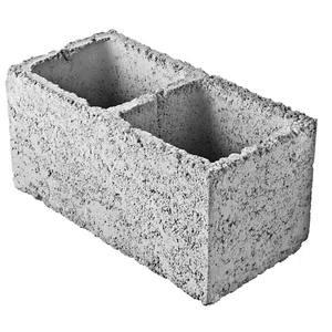 Bloco Concreto Tipo Vedação Vazado 19 x 19 x 39 cm