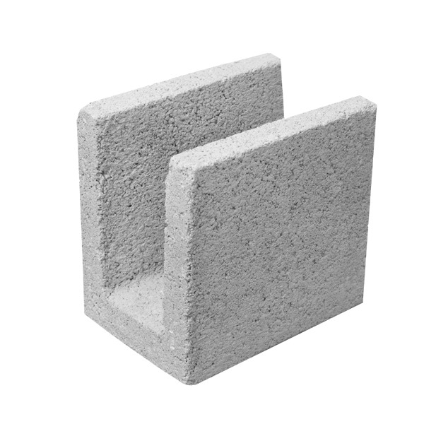 bloco de concreto em u 14x19x19cm blojaf leroy merlin On opiniones de concreto encerado leroy merlin
