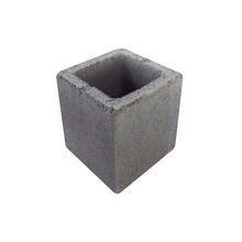 Bloco de Concreto Vazado Estrutural 4,5 Mpa - Meio Bloco 19x19x19cm - Classe B - JCRB Blocos