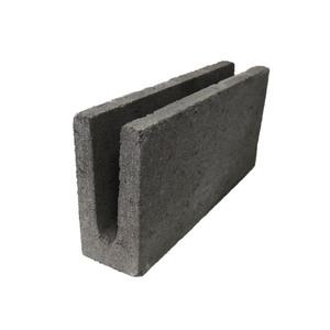 Bloco de Concreto Estrutural Canaleta 9x19x39cm Multibloco