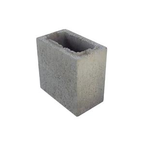 Bloco de Concreto Vazado Vedação - Meio Bloco 11,5x19x19cm - Classe D - JCRB Blocos