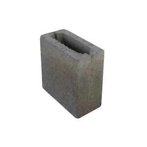 Bloco de Concreto Vazado Vedação - Meio Bloco 9x19x19cm - Classe D - JCRB Blocos