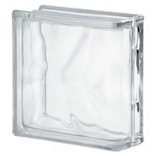 Bloco de Vidro 1 Lado Neutro Incolor 19x19x8cm Seves Glass Block