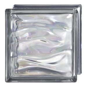 Bloco de Vidro Água B-Q19 Perla Antracita Armazém 21