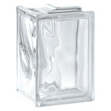 Bloco de Vidro Canto 90° 19x19x8cm Seves