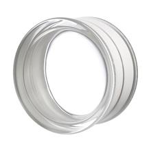 Bloco de Vidro Circular Incolor 19x10cm Seves