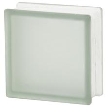Bloco de Vidro Clean Fosco Incolor 19x19x8cm Artens