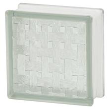Bloco de Vidro Clean Macramê Incolor 19x19x8cm Artens