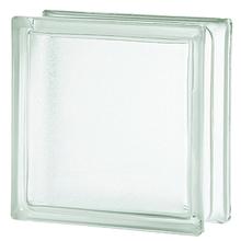 Bloco de Vidro Clean Semi Fosco Incolor 19x19x8cm Artens