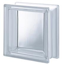 Bloco de Vidro Liso Incolor 19x19x8cm Seves