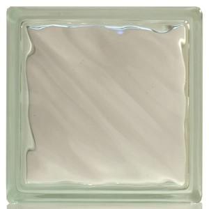 Bloco Vidro Incolor Diagonal Clear Basic 19,00 cm 19,00 cm 8,00 cm