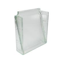Bloco Vidro Ventilado Liso 20cmx20cmx6cm Prismatic