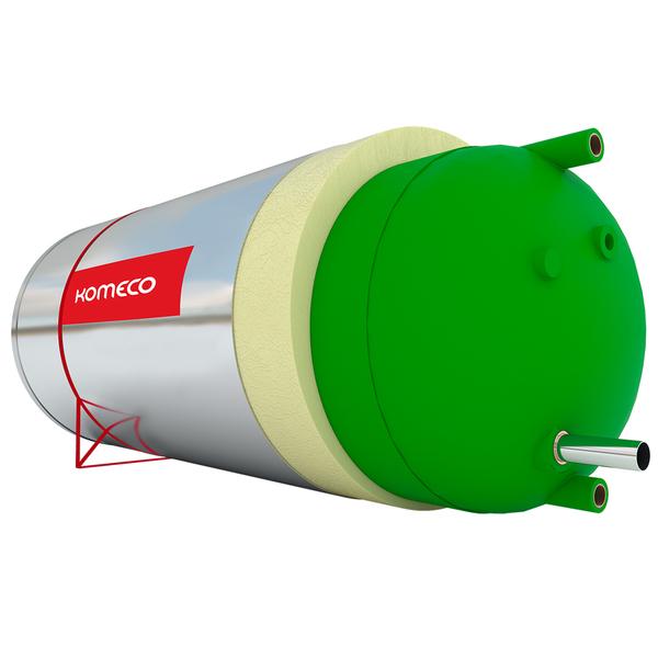Boiler Solar Baixa Pressão 200l Ppr Komeco Leroy Merlin