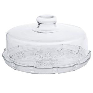 Boleira de vidro com tampa prato para bolo com tampa for Prato finto leroy merlin