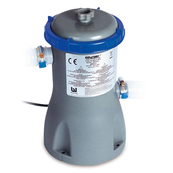 Bomba filtro para piscina de armar inflar 110v for Piscinas para armar