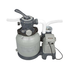 Bomba Filtro para Piscina de Armar/Inflar 7.900L/h Krystal Clear 250V(220V) Intex