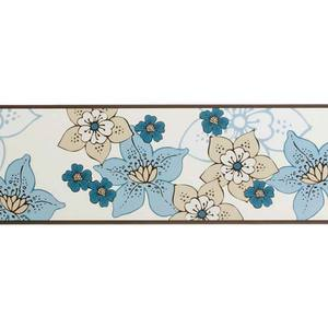 Border Adesivo Flores 13,25x5m Art Papier