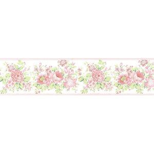 Border Floral Rosa 16,5cmx5m Plavitec