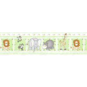 Border Zoo Verde 16,5cmx5m Plavitec