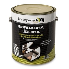 Impermeabilizante Impertech Gold 3,6 Kg Cinza HM Rubber