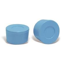 "Borracha Suporte Escada 1 1/2"" Plástico 3x5cm Azul CMB Aqua"