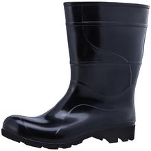 Bota PVC Impermeável N 33/34 Cano Médio Preta Kala