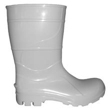 Bota PVC Impermeável N 37 Cano Médio Branca Kala