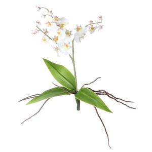 Bouquet Lavanda X10 36cm Branco Flor Arte
