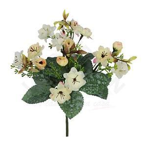 Bouquet Rosas Mini Creme 30cm Florarte